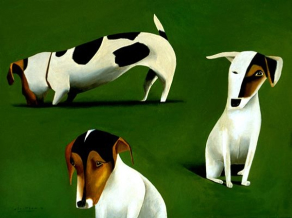 Jack Russells by Mark Ulriksen