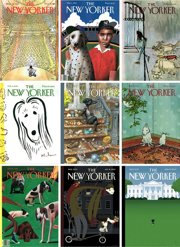 More New Yorker covers featuring dogs