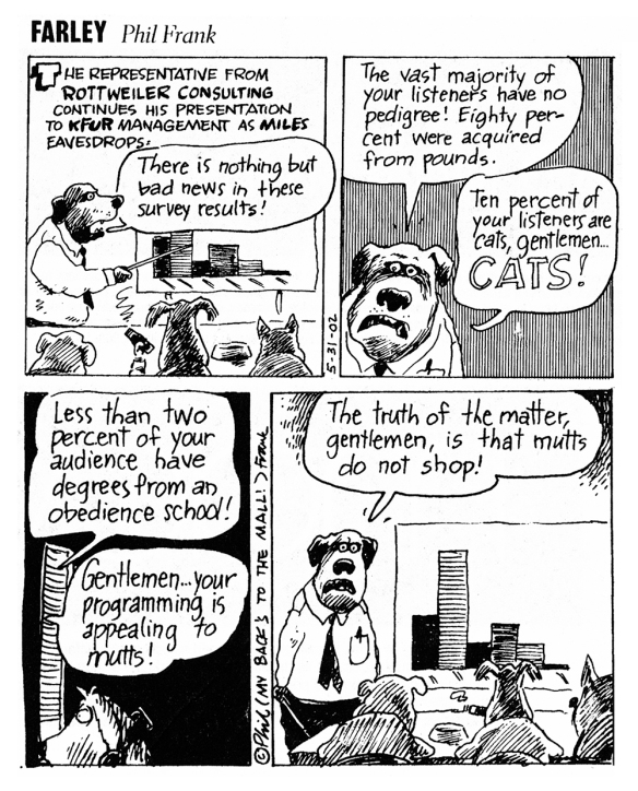 Farley Comic Strip by Phil Frank