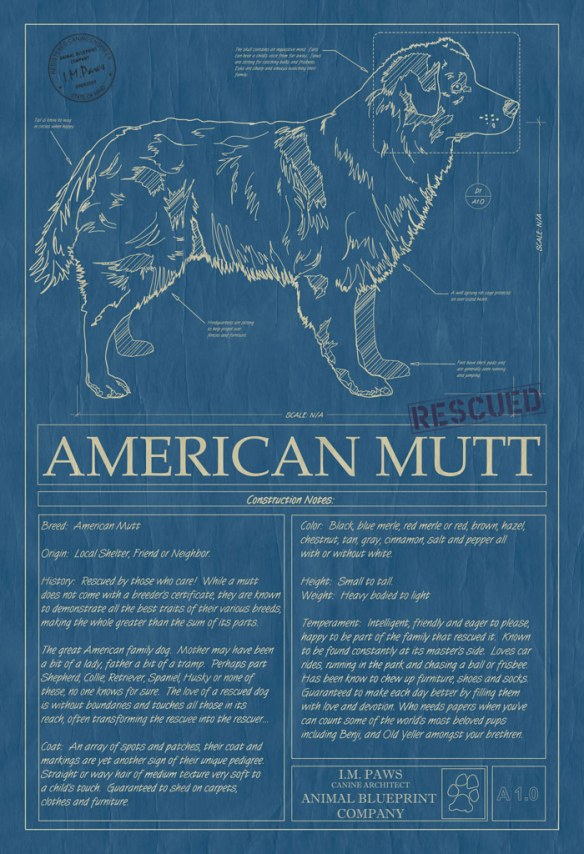 Animal Blueprint Company Mutt