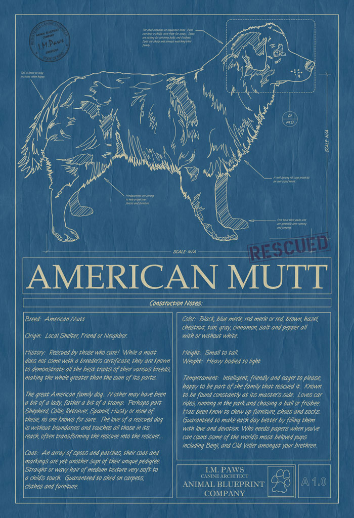 Animal Blueprint Company Mutt