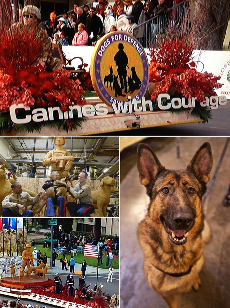 Canines with Courage Float