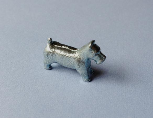 Monopoly Scottie dog piece