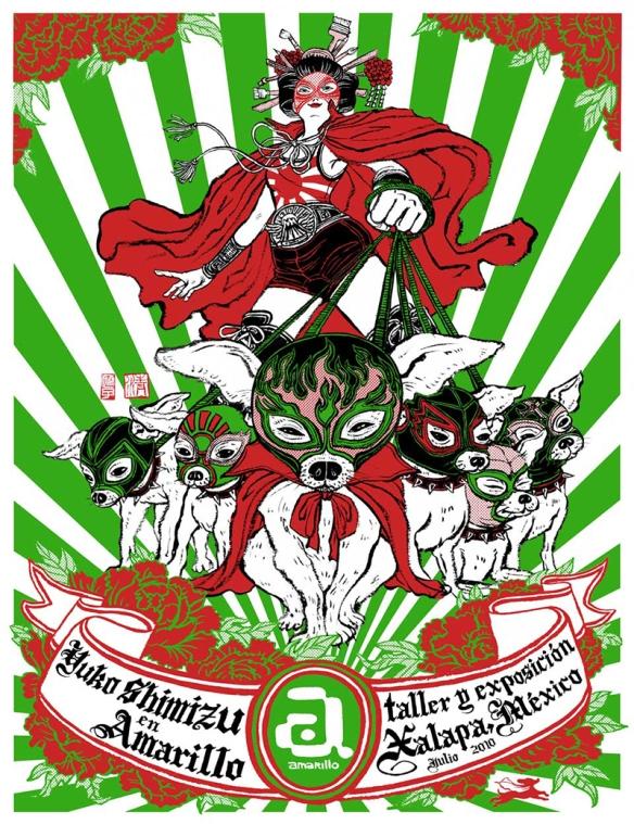 Yuko Shimizu Amarillo Poster