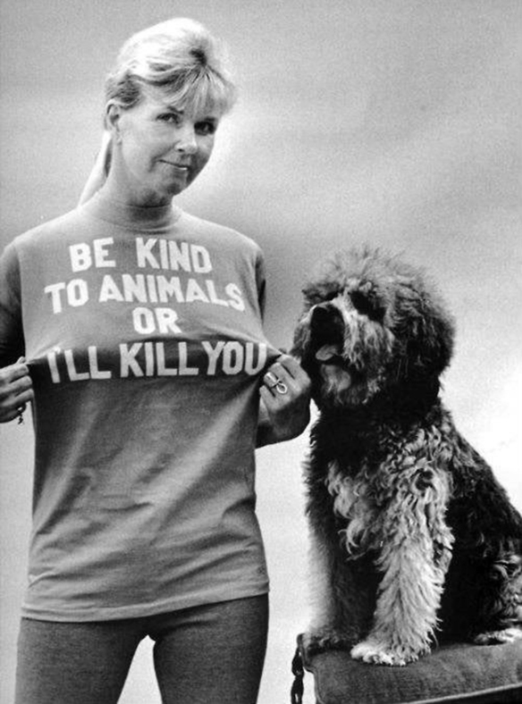 Doris Day and Doggie
