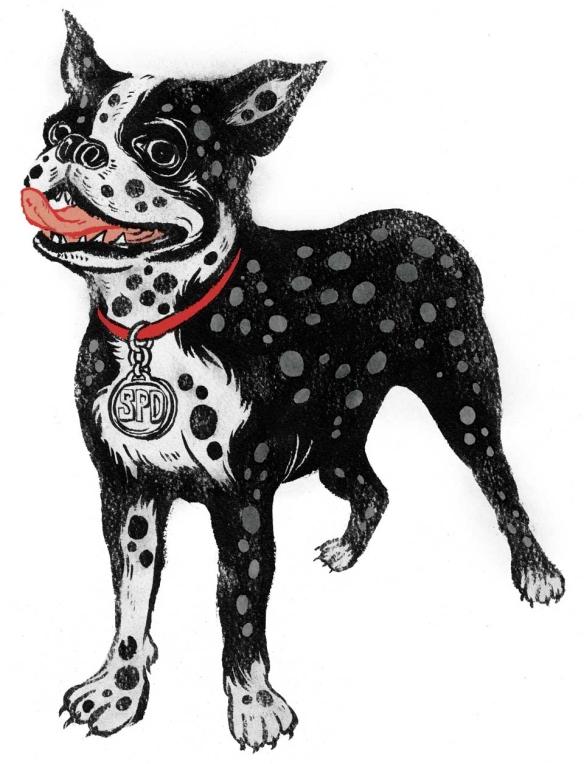 SPD Dog by Yuko Shimizu