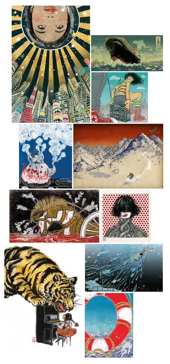 Illustration work of Yuko Shimizu