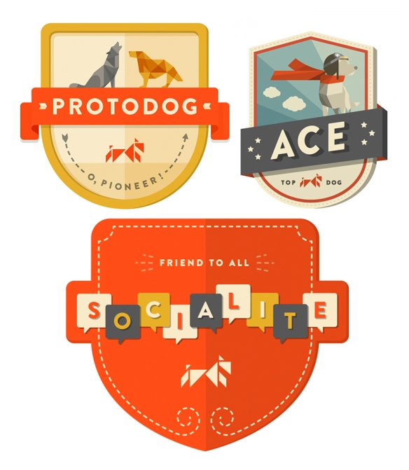 Dognition Badges
