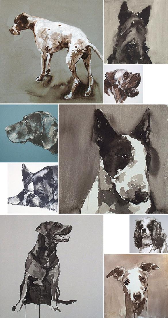 Works by Cornwall artist Ian Mason