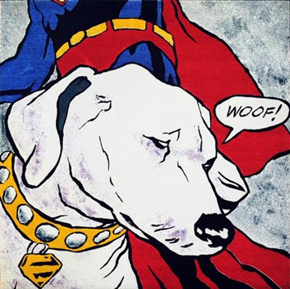 Lichtenstein's Dog by Mychael Barratt