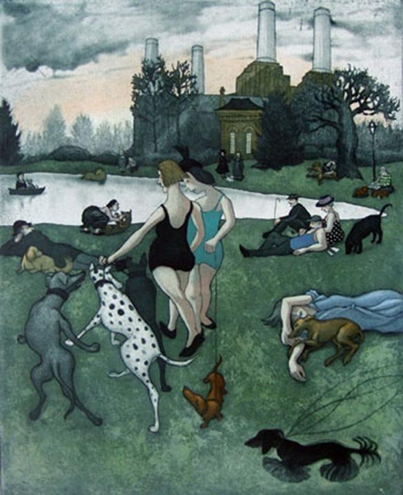 Life Imitating Art VIII by Mychael Barratt