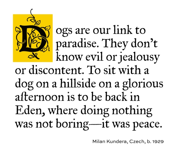 Quote by Milan Kundera
