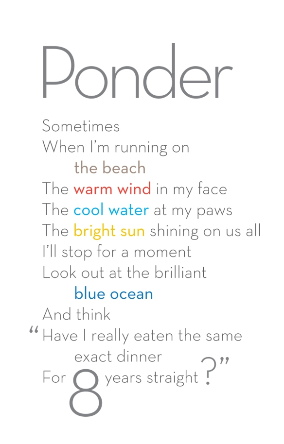 Ponder poem