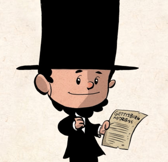 Brad Meltzer's Lincoln as a kid